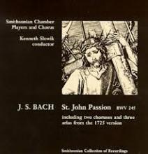 Johann Sebastian Bach - St. John Passion - Smithsonian Collection of Recordings
