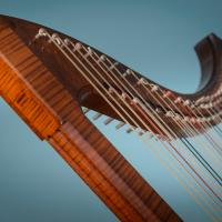 Italian Renaissance Harp by Rainer Thurau - Photo: André Wagenzik