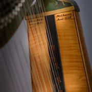 German Baroque Harp by Claus Henry Hüttel - Photo: André Wagenzik
